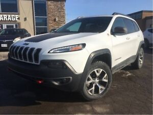 2015 Jeep Cherokee Trailhawk 4x4 NAVIGATION LEATHER PANORAMA ROO