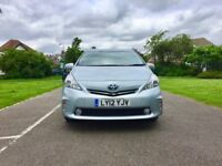 PCO 2012 TOYOTA PRIUS PLUS | 5Seater | Low Miles 68,400| Navigation | 1 Owner| Like Galaxy Sharan