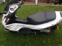 Gilera runner 172 registered as a 125. All Malossi parts