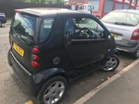 Smart car 2003 600 cc semi auto runs and drives breaking for parts