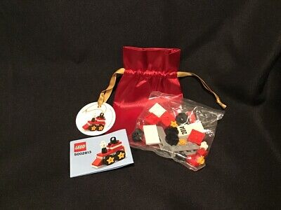 BRAND NEW SEALED BAG Lego 5002813 XMAS Train Ornament 2014 FREE SHIP!
