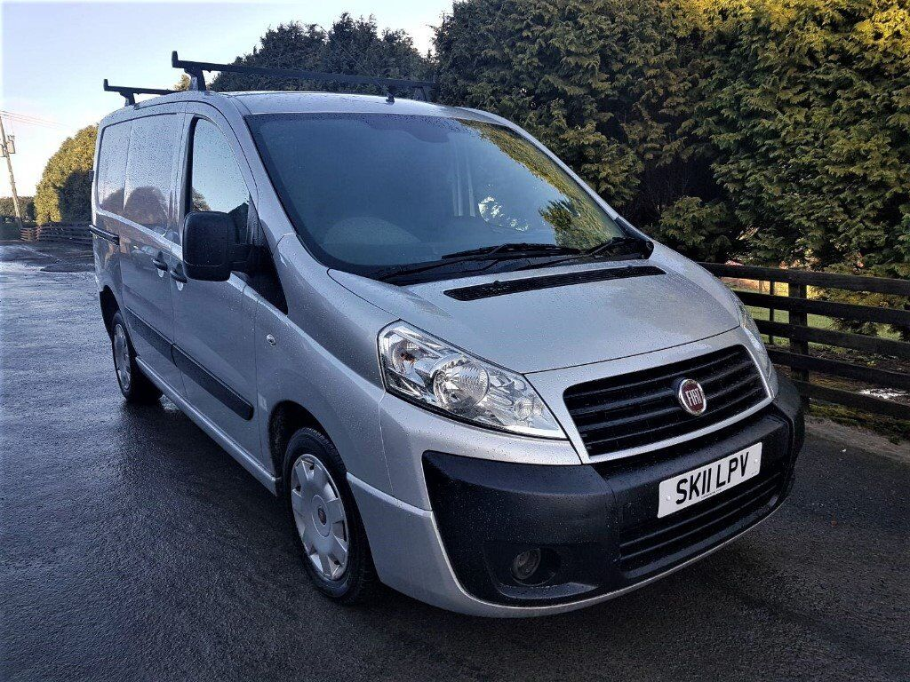 2011 Fiat Scudo 6 Doors 3 Seater One Previous Owner