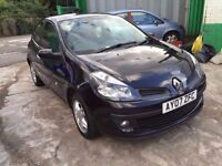2007 RENAULT CLIO DYNAMIQUE 1.4, HPI CLEAR, DRIVES WELL, IDEAL FOR NEW DRIVERS, FINANCE AVAILABLE