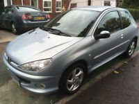 2006 06 REG PEUGEOT 206 2.0 HDI SPORT TURBO DIESEL 3 DOOR FULL MOT