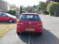 VW GOLF 2.0 TDI SE 140 BRAKE 6 SPEED DIESEL 59 PLATE NEWER SHAPE
