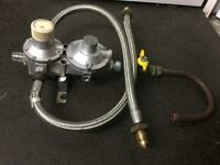 LPG change over valve. Caravan. Catering trailer. Motorhome