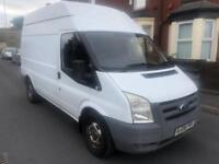 2008 08reg Ford Transit 2.2 Tdci 110 330t Mwb High Top