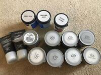 30 paint testers (23 grey + 7 white) - Barely used