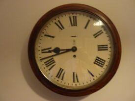 George VI Railway/School Clock