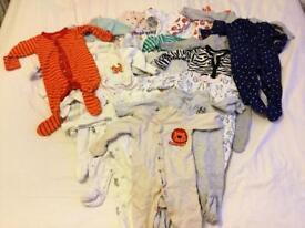 Bundle girls clothing 3-6months