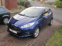 Ford Fiesta Zetec 2015 Blue Immaculate Condition Low Miles