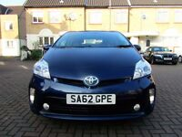 TOYOTA PRIUS 1.8 HYBRID T4 5 DOOR HATCHBACK FSH HPI CLEAR 2 KEYS EXCELLENT CONDITION