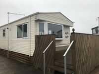 Willerby Seaspray caravan Excellent condition 37x12 3 bed central heating double glazed galvanised