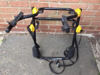 Spare wheel bike rack / carrier