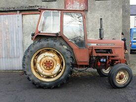 International 474 62hp Tractor