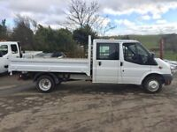 63 Ford Transit 350 Double Cab Dropside Tipper Pick Up