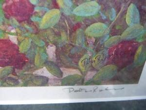 "Listed Artist Peter Robson ""Summer Fragrance"" Limited Edition Stratford Kitchener Area image 4"