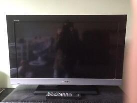 """32"""" flat-screen TV"""