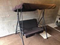 Two Seats Garden Chair Swing Bench