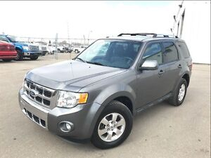 2012 Ford Escape Limited-PST PAID 4X4