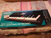 Casio key lighting keyboard for sale