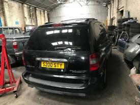 Chrysler grand voyager breaking for spares 2007 facelift automatic 2.8 crd black bonnet Wing