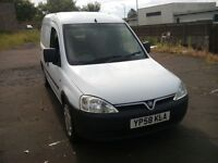vauxhall combo crewvan 2000 cdti 1.3 turbo diesel 2008 58 plate