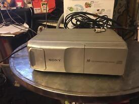 Sony 10 Discs cd changer, cdx 505rf