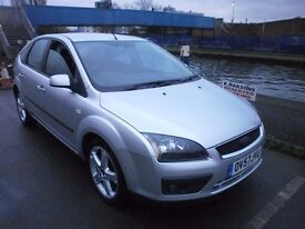 2007 FORD FOCUS 1.6 MANUAL, 5DOOR, VERY CLEAN CAR, FULL SERVICE HISTORY, DRIVES LIKE NEW, HPI CLEAR