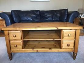 Used Ducal coffee table. 2 shelves. 4 drawers. Bryncoch Neath. £50