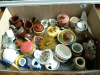Job lot full box of porcelain pottery crramics - FREE!