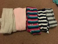 5 x girls tights aged 5-6 years