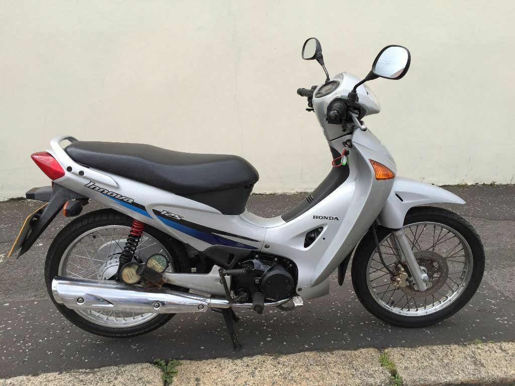 2003 honda anf innova 125 very clean bike motd running. Black Bedroom Furniture Sets. Home Design Ideas