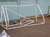 Free Football goalpost plastic