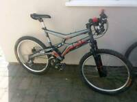 Reduced!!Marin rift zone full suspension bike, fox, hope, continental