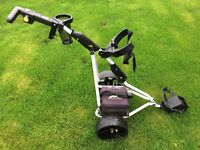 Powakaddy Freeway Electric Golf Trolley 36 hole battery - Excellent condition