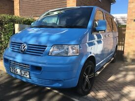 Danish Blue VW Transporter Van - Part Converted