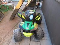 Ride on quad 12V