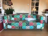 Ikea klippan double seat sofa £50