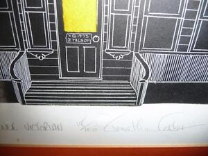 "American Jonathan Talbot ""Park Avenue Victorian"" 1975, Signed Stratford Kitchener Area image 3"