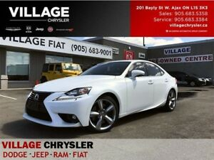 2015 Lexus IS 350 AWD|SUNROOF|BACKUP CAM|HEATED/VENT SEATS