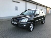 2008 Kia Sportage ,4WD,Full Service History, Low Mileage,Owner from new