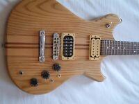 Westone Thunder II electric guitar - Matsumoku, Japan - '80s - Stripped body