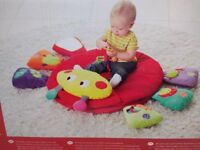 Baby musical playmat & gym (mama's & papas). Babyplay Light & Sound Lotty Playmat and Baby Gym