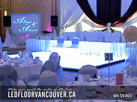 Led Dance Floor Vancouver w Photos / Price