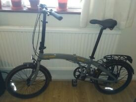 20'' Raleigh Evo-2 Folding bike, very good condition, bought 3 months ago (proof of purchase), !