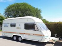Avondale Avocet 2 Berth Twin Axle Caravan With Awning