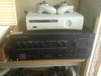 p a amplifer and cd player see photos plz