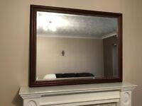 88 x 115cm mirror by 'Morris Mirrors'