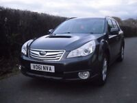 Subaru Outback 4 wheel drive diesel, 1 owner from new, FSH and long MOT